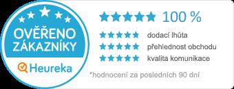 Certifikát Ověřeno zákazníky od Heureka.cz